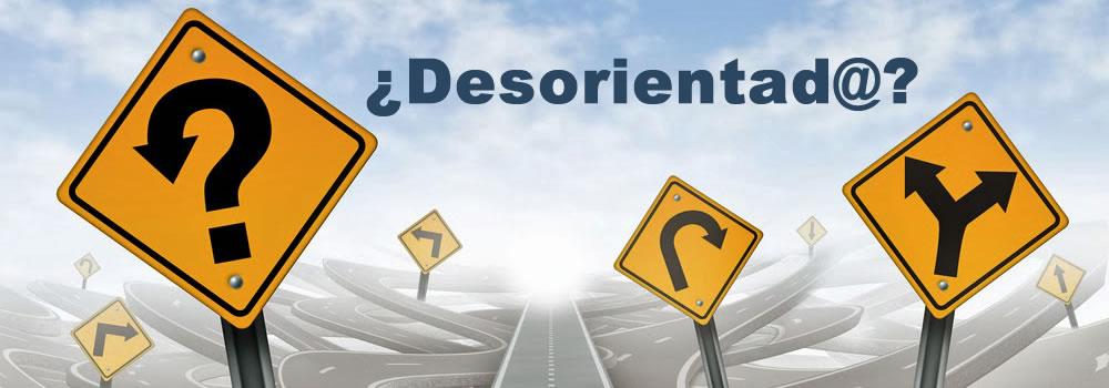 ¿ Desorientad@ ?