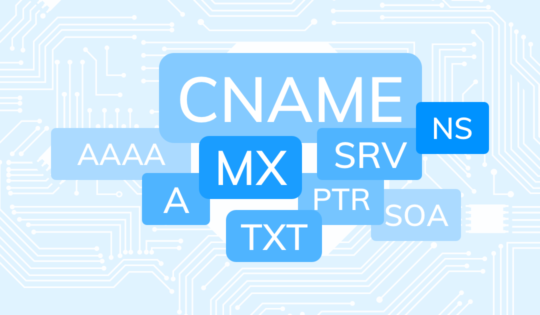 ¿Qué es un registro A y qué lo diferencia de uno CNAME y MX?